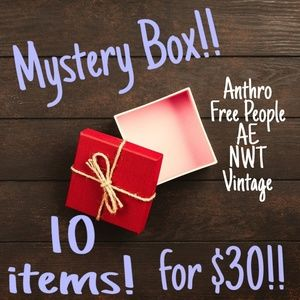 Mystery Box Sale! 10 items for $30!